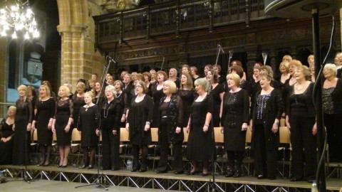 Rodillian singers 50th anniversary concert at Wakefield cathedral